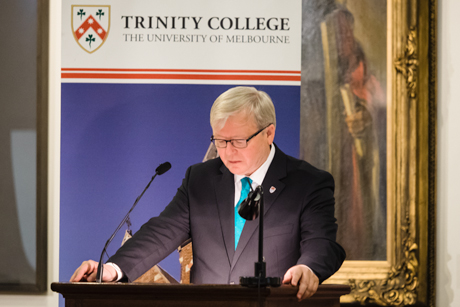 Kevin Rudd's Finding the Rock of Faith in Politics