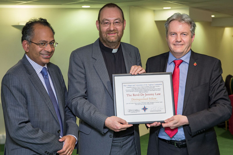 First ever Distinguished Fellowship for the UK